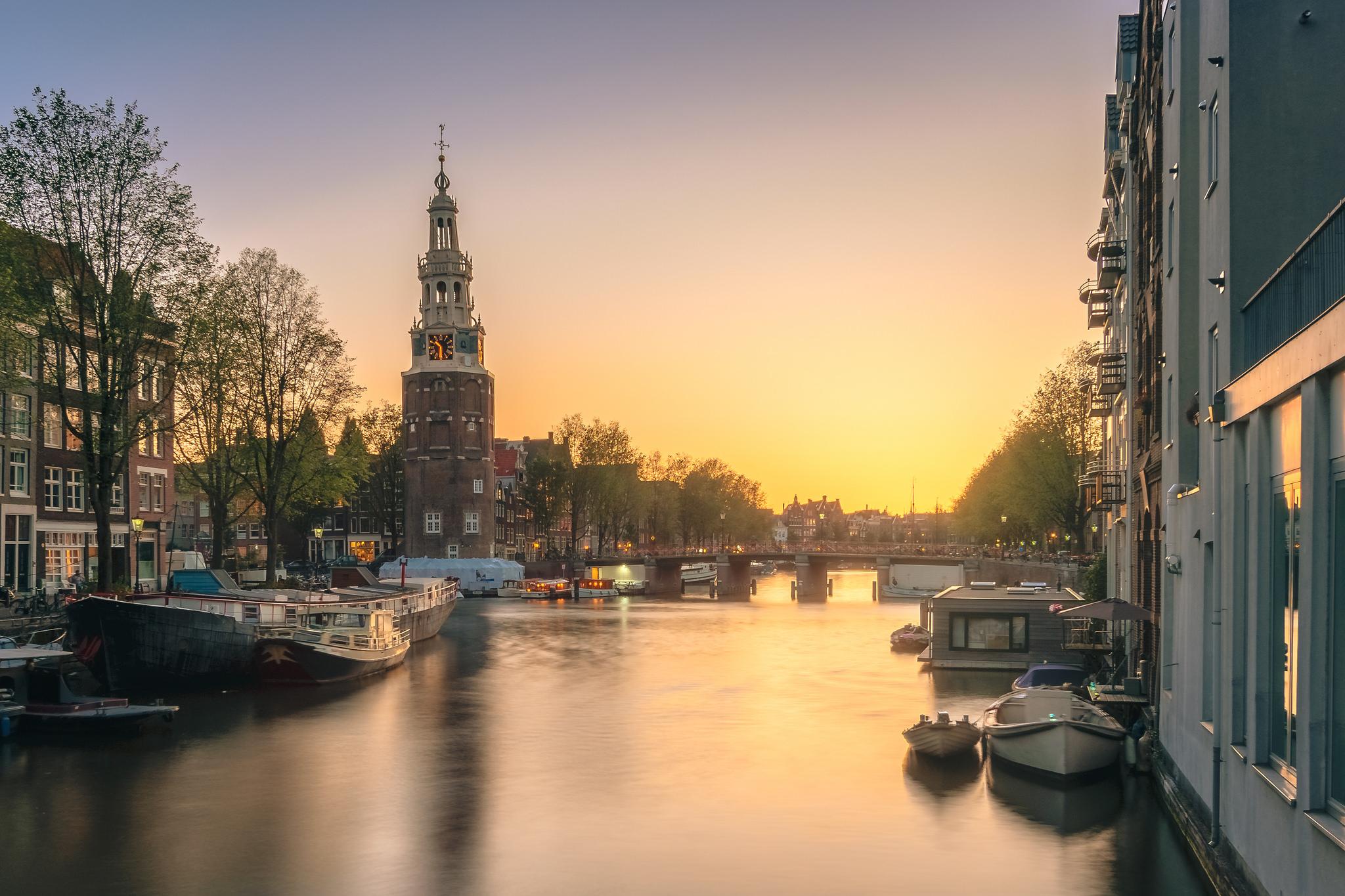 Rapenburgwal, Amsterdam